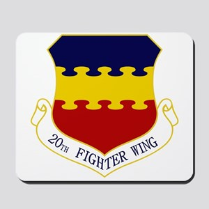 20th Fighter Wing Mousepad