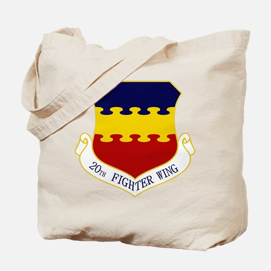 20th Fighter Wing Tote Bag