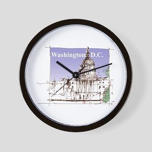 Washington DC Wall Clock