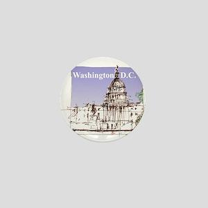 Washington DC Mini Button