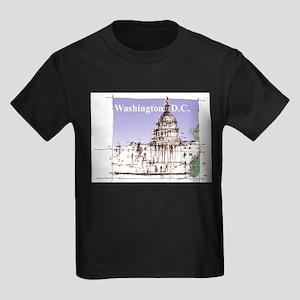 Washington DC Kids Dark T-Shirt