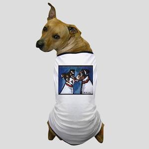 RAT TERRIER kiss Dog T-Shirt
