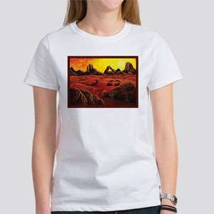 Desert Shadows w/ border Women's T-Shirt