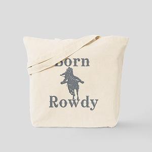 Born Rowdy Logo Tote Bag