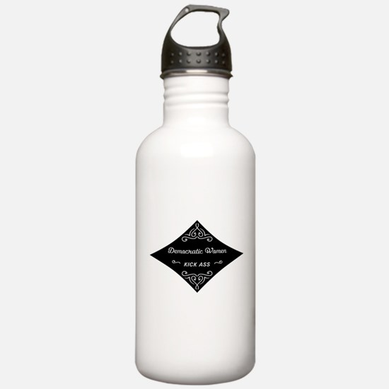Democratic Women Kick Ass Water Bottle