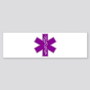 Star of Life - Purple Sticker (Bumper)