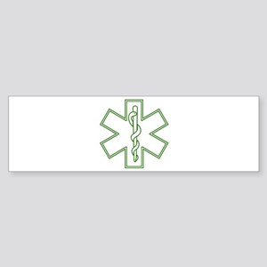 Purple Star of Life (outline) Sticker (Bumper)