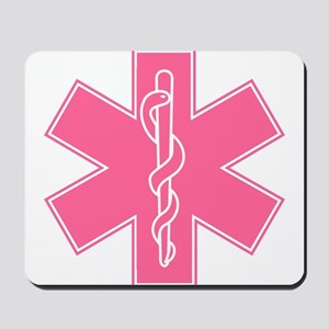 Star of Life (front) / Trauma Junkie (back) Mousep