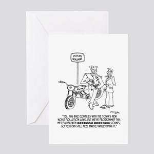 Brrrrooom Sounds Greeting Card