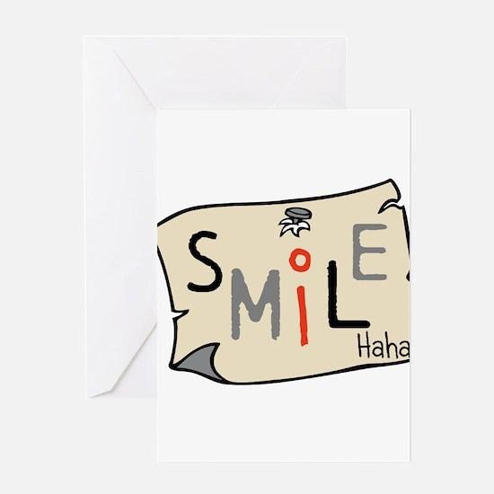 OYOOS Smile design Greeting Card