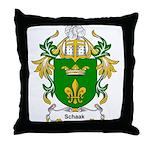 Schaak Coat of Arms Throw Pillow