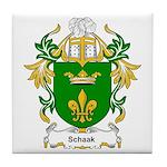 Schaak Coat of Arms Tile Coaster