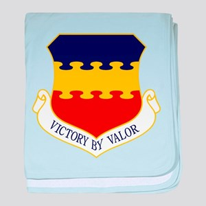 20th Fighter Wing baby blanket