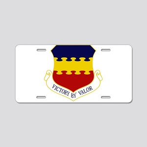 20th Fighter Wing Aluminum License Plate