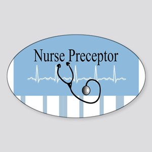 NICU Nurse Sticker (Oval)