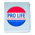 Pro Life baby blanket
