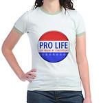 Pro Life Jr. Ringer T-Shirt