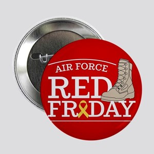 """USAF RED Friday Boot 2.25"""" Button"""