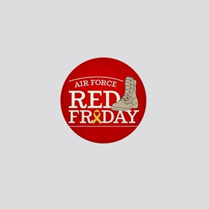 USAF RED Friday Boot Mini Button