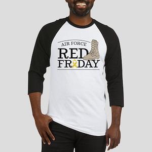 USAF RED Friday Boot Baseball Tee