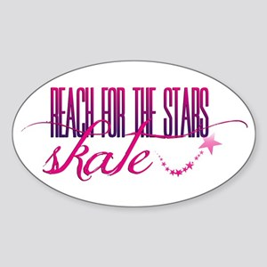 Reach for the Stars Sticker (Oval)