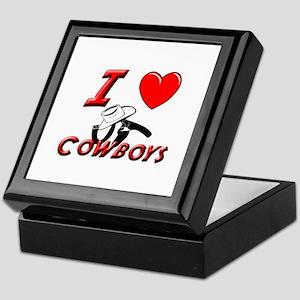 HOT COWBOYS Keepsake Box