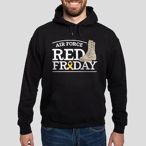 USAF RED Friday Boot Hoodie (dark)