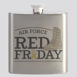 USAF RED Friday Boot Flask