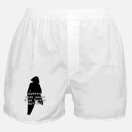 WWMPD? Sil Boxer Shorts