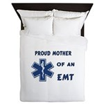 Proud Mother of an EMT Queen Duvet