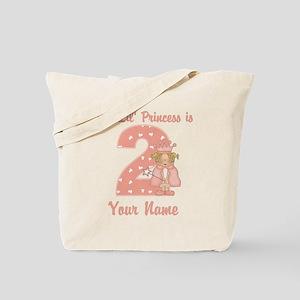 2nd Birthday Princess Tote Bag