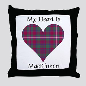 Heart-MacKinnon Throw Pillow