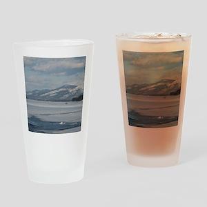 LG Winter Drinking Glass