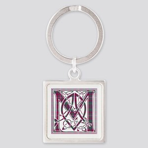 Monogram-MacKinnon Square Keychain