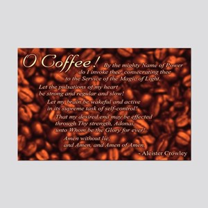 """Coffee Invocation 11x17"""" Poster"""