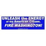 Unleash the Energy Sticker (Bumper Sticker)
