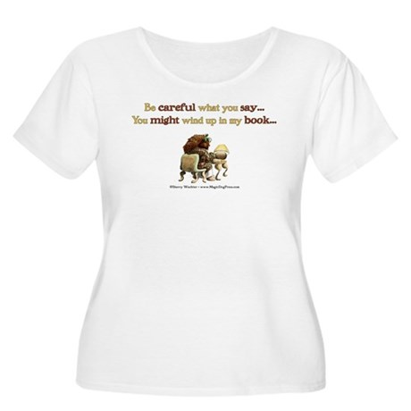 Writers Only Women's Plus Size Scoop Neck T-Shirt