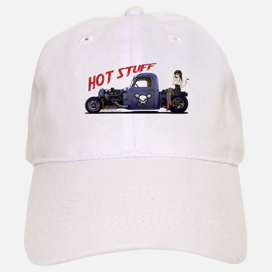 Hot Rod Truck Baseball Baseball Cap