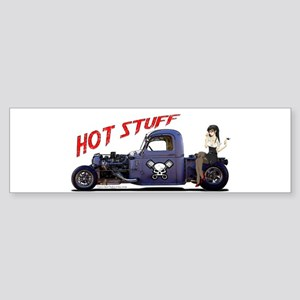 Hot Rod Truck Sticker (Bumper)