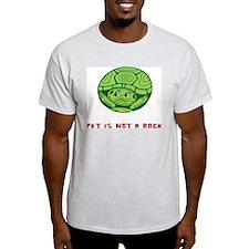 pet is not a rock! Ash Grey T-Shirt