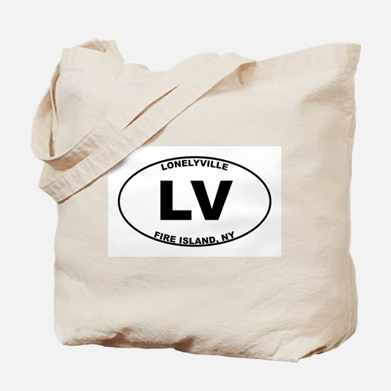 Fire Island Lonelyville Tote Bag