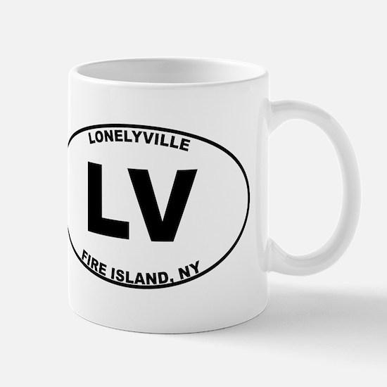 Fire Island Lonelyville Mug