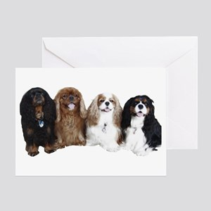 4Cavaliers Greeting Card