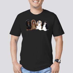 4Cavaliers Men's Fitted T-Shirt (dark)
