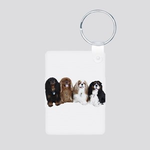4Cavaliers Aluminum Photo Keychain