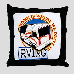 Rving 2 Throw Pillow