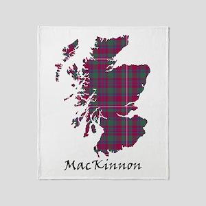 Map-MacKinnon Throw Blanket