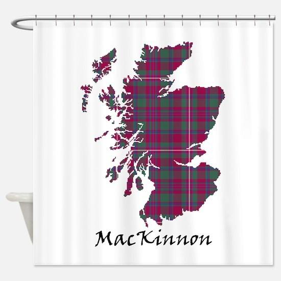 Map-MacKinnon Shower Curtain