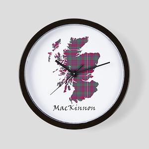 Map-MacKinnon Wall Clock