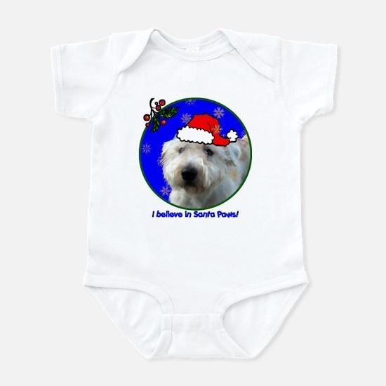 SANTA PAWS Glen Infant Bodysuit